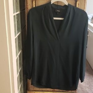NWOT Theory long sleeve blouse